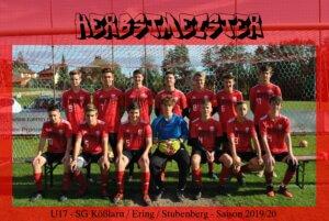U17 feiert Herbstmeisterschaft
